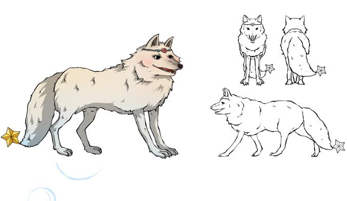 各种动物明星简笔画图片